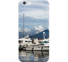 Vesuvius and Naples Harbor - Mediterranean Impressions iPhone Case/Skin