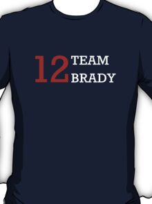 12 Team Brady T-Shirt