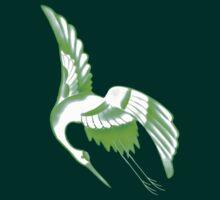 Green Bird by myrbpix