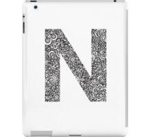 N iPad Case/Skin