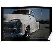 1955 Chevy Pick Up Poster