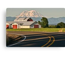 Country Road..... Take Me Home Canvas Print