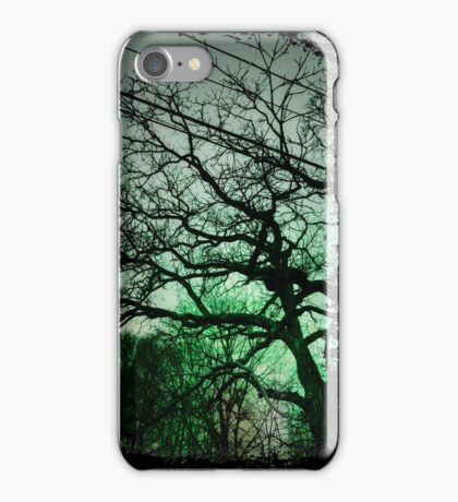 Trees & Wires iPhone Case/Skin