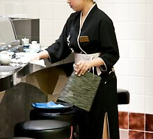 Sushi Hostess by phil decocco