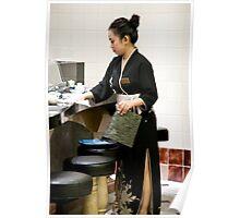 Sushi Hostess Poster