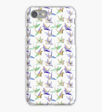 Origami Cranes iPhone Case/Skin