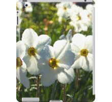 Poet Daffodils Dreams - Impressions Of Spring iPad Case/Skin