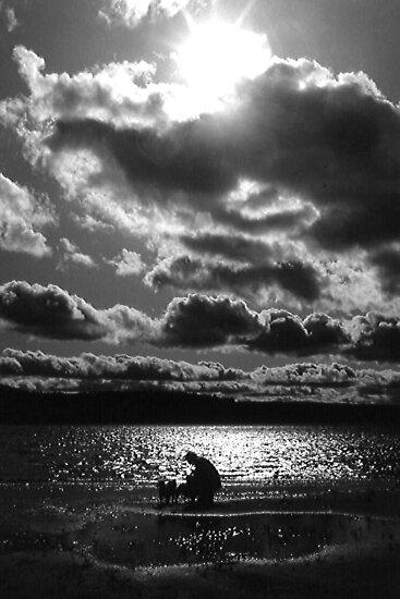 Dramatic Afternoon Lake by John Carpenter