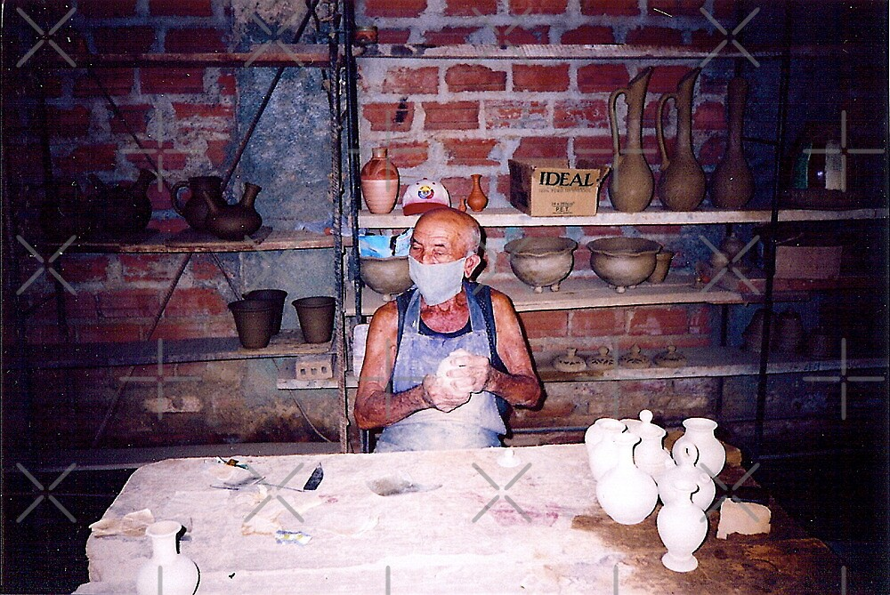 Cuba - pottery making by Shulie1