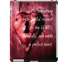 A Perfect Heart iPad Case/Skin