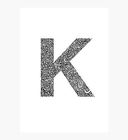 K Photographic Print