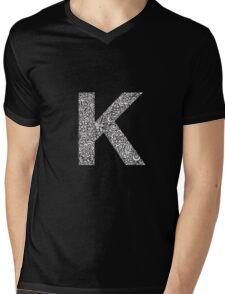 K Mens V-Neck T-Shirt