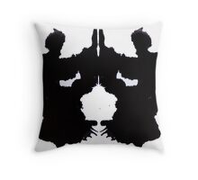 angels and devils, wombats and toasters Throw Pillow