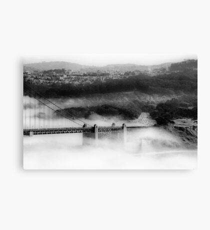 Engulfed by Fog Canvas Print