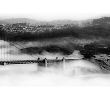 Engulfed by Fog Photographic Print