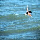 Gulf Waves by Rosalie Scanlon