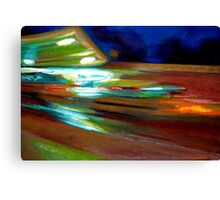 Popular Spot Drive By Canvas Print