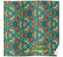 ( WAHTB  )  ERIC WHITEMAN ART  Poster