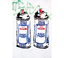 Street art by Tesco! Photographic Print
