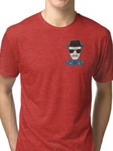 Breaking Bad Heisenberg Blue Design Tri-blend T-Shirt