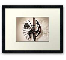 Martial Arts Weapon Series Framed Print