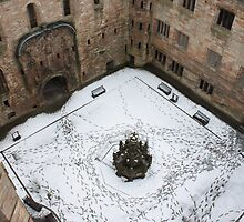 Linlithgow Palace Inner Courtyard by wjohnd
