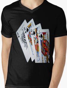 Pick a card Mens V-Neck T-Shirt