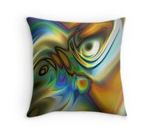 Emotional (Abstract) Throw Pillow