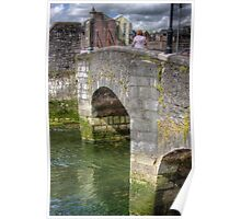 The Bridge - over one of the Canals in Cork, Ireland Poster