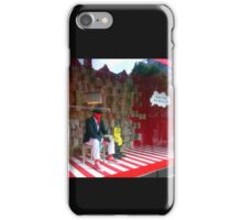 BLACK, WHITE AND RED ALL OVER iPhone Case/Skin