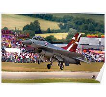 F16 MLU Landing Poster