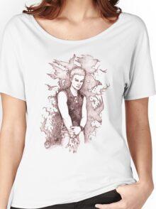 Punk Spike Women's Relaxed Fit T-Shirt
