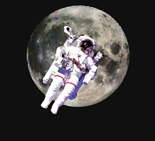 Floating Astronaut with Moon Unisex T-Shirt