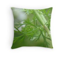 In the Herb Garden Throw Pillow