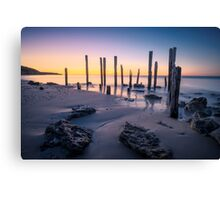 Port Willunga Afterglow Canvas Print