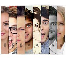 British YouTubers Poster