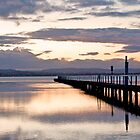 Winter Sunset, Long Jetty, NSW by Nicolette Gregory