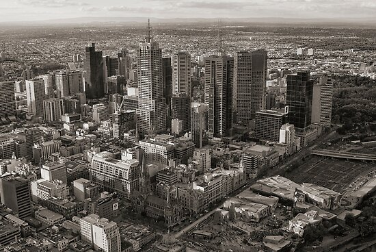 Melbourne City by Ewan Arnolda