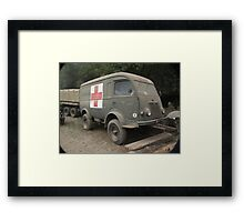 Renault Ambulance Framed Print