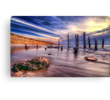Sensational Seaside Scene Canvas Print