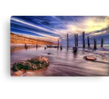 Sensational Seaside Scene Canvas Print