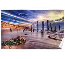 Sensational Seaside Scene Poster