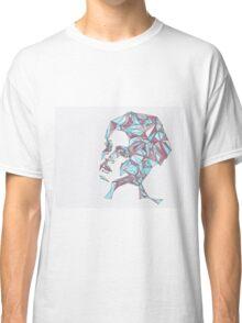 Beautiful Woman Abstract Portrait Classic T-Shirt