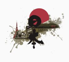 Nippon - Modern and Traditional Japan Montage by BEWS