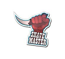 Shave Master Photographic Print