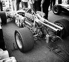 Brabham F1 car in pits by dunxs