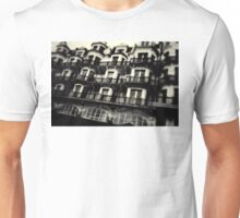 Houses on Hastings Seafront Unisex T-Shirt