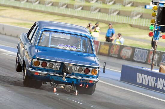 Mazda RX-3 Drag Car by inmotionphotog