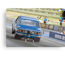 Mazda RX-3 Drag Car Canvas Print