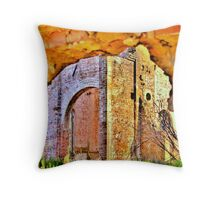 Lasting Remains Throw Pillow